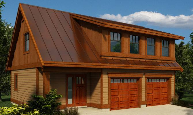 Carriage House Plan Shed Dormer