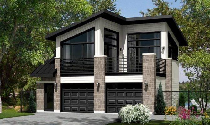 Carriage House Plans Modern Plan