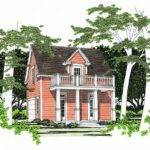 Carriage House Plans Southern Style Garage Apartment Plan