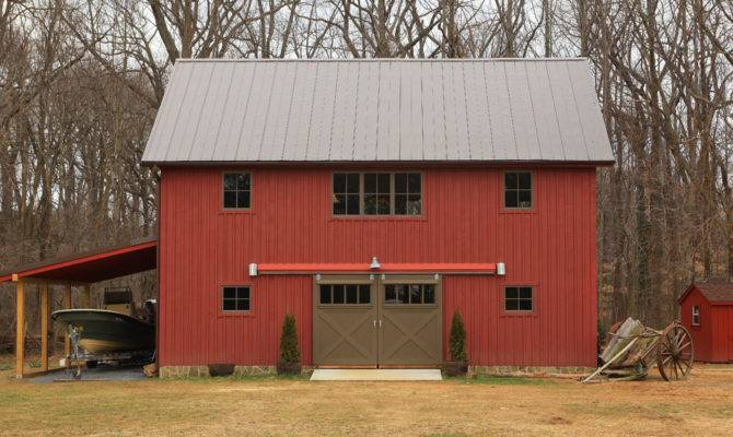 Carriage House Shed Plans