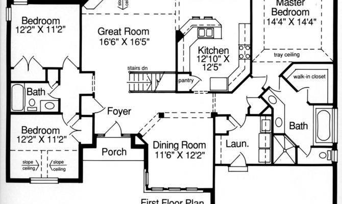 Carrington Bedrooms Baths House