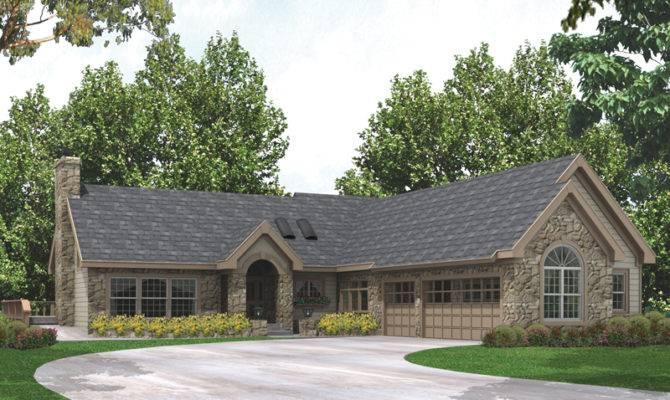 Carrollstone Country Ranch Home Plan House