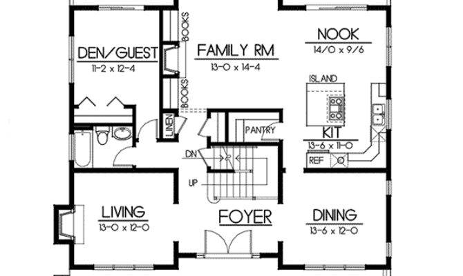 Carters Hill Craftsman Home Plan House Plans