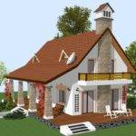 Case Mansarda Patru Camere Four Room Attic House Plans