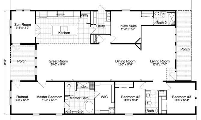 Casita Iii Tdx Home Floor Plan Manufactured Modular