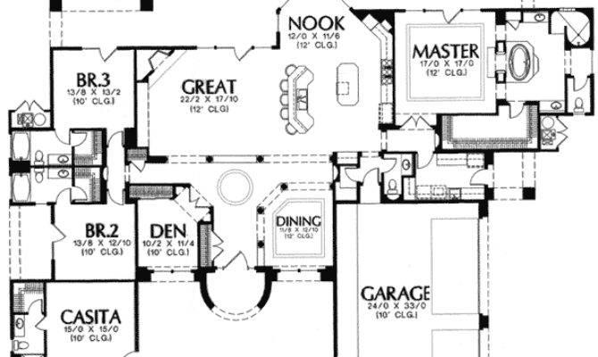 Casitas House Plans Design