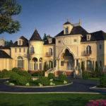Castle Luxury House Plans Manors Chateaux Palaces European