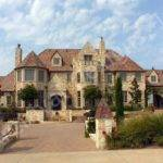 Castle Style Homes Cuore Leone Ehouse Plans Home