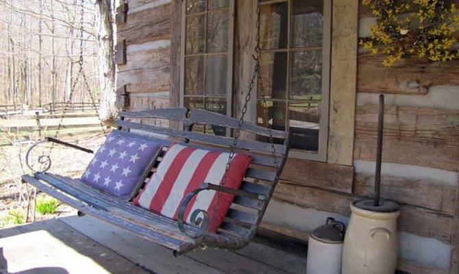 Catalog Nickelsvacationcabinsin Antique Cabin Front Porch