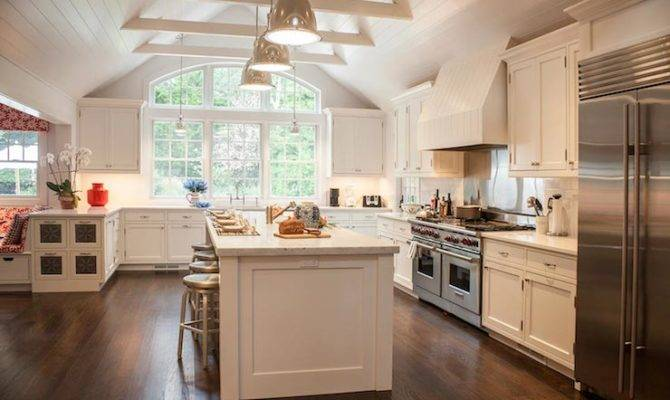 Cathedral Ceiling Kitchen Transitional Smith River Kitchens