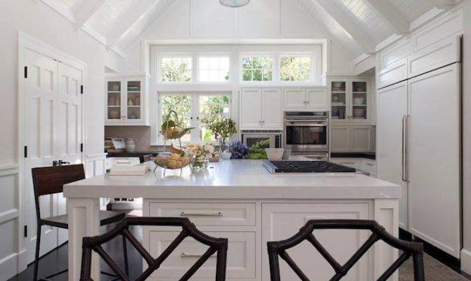 Cathedral Ceiling Kitchen