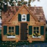 Cedar Sided Victorian Playhouse