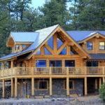 Cedar Stone Log Home Kit