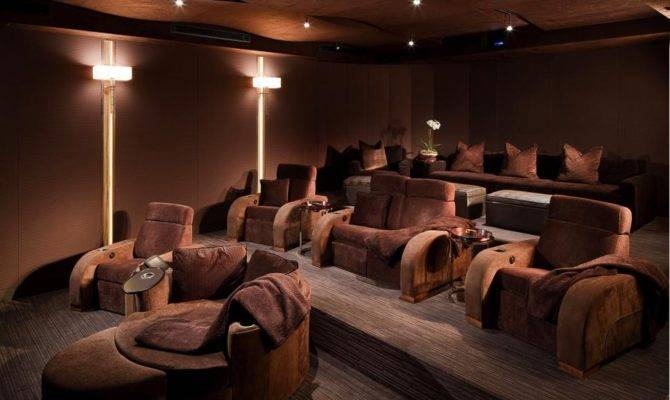 Cedia Home Theater Finalist Casual Luxury Hgtv