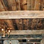 Ceiling Beams Antique Split Rail Fence Flooring Fireplace Beam