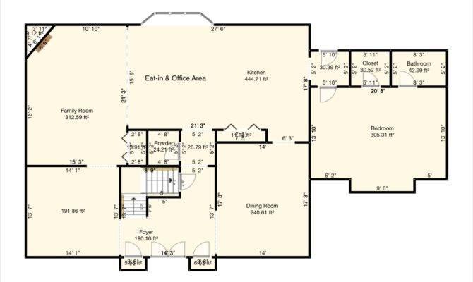 Center Hall Colonial Floor Plan Excellent House Design Ideas