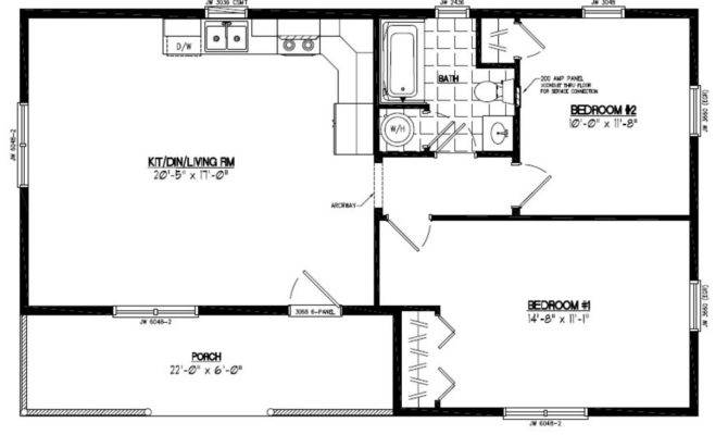 Certified Homes Frontier Style Home Plans