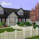 Chalet Blanc Front House Screenshot Months Small