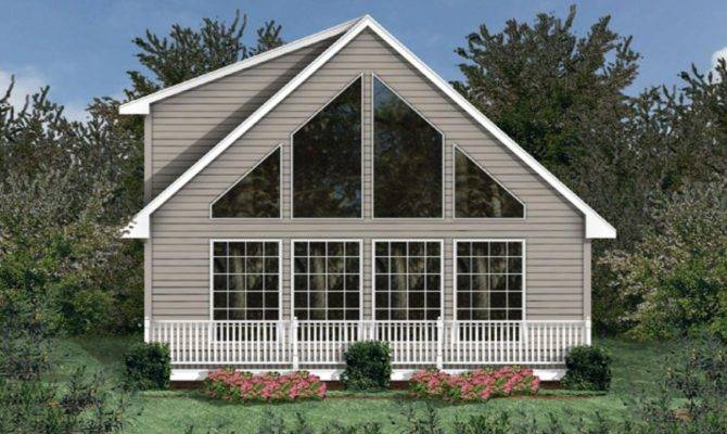 Chalet Home Plan Mountain Cabin Cottage House