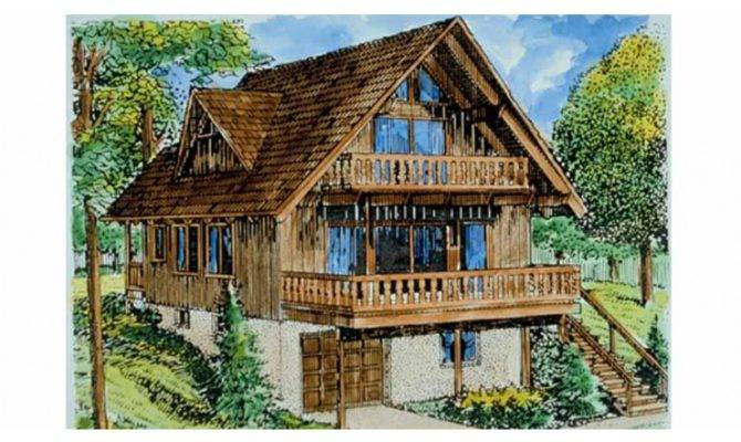 Chalet House Plan Square Feet Bedrooms Dream Home