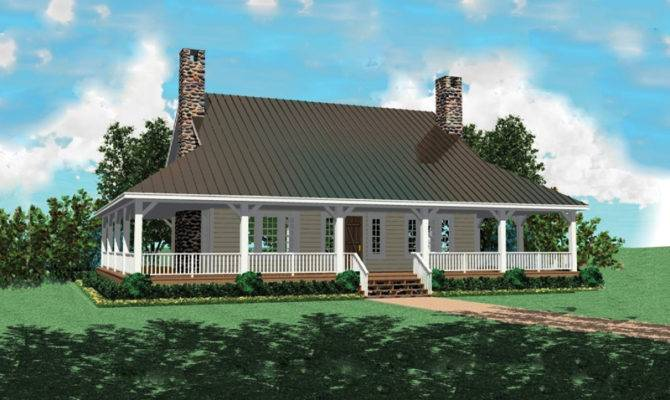 Chambersburg Mill Acadian Home Plan House