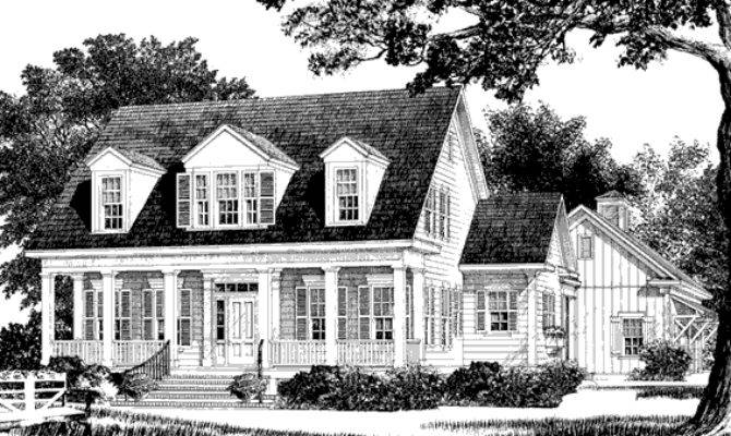 Champion Hill Mitchell Ginn Southern Living House Plans