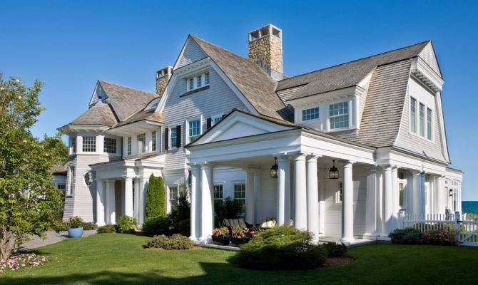 Characteristics Shingle Style House Plans Home Design