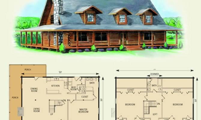 Charlottesville Log Home Cabin Floor Plan Great