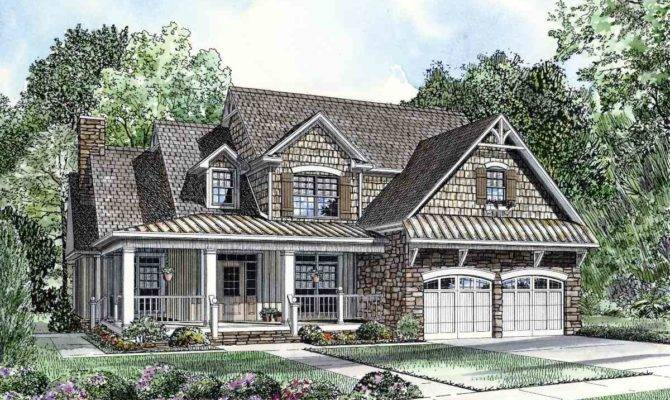 Charming Home Plan Floor Master Suite