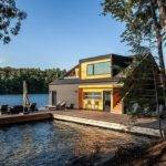 Charming Lake House Joseph Canada Altius Architecture