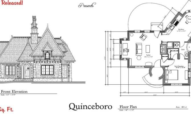 Charming Storybook Cottage House Plans Cape Atlantic