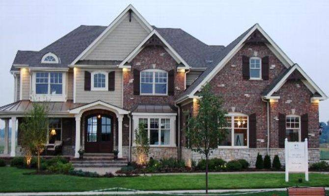 Charming Two Story Home Garage Floorplans