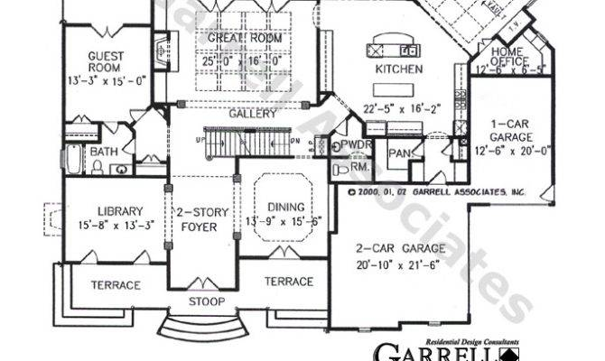 Chateau Lafayette French Country House Plan Interiors