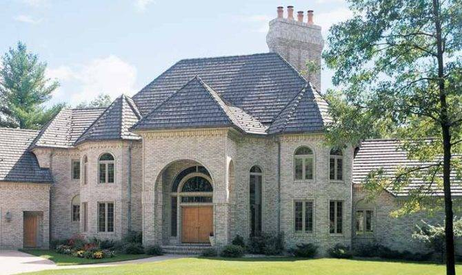 Chateauesque Home Housing Styles Pinterest