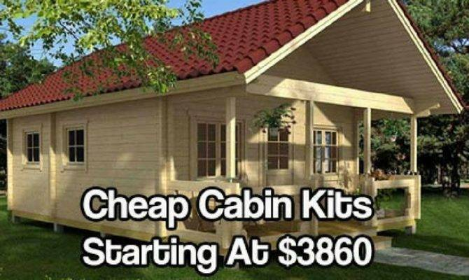 Cheap Cabin Kits Starting