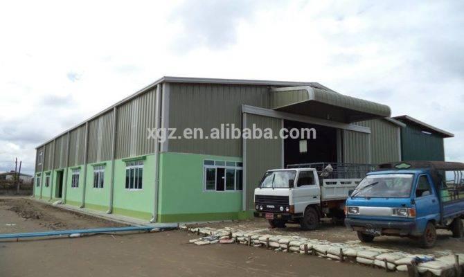 Cheap Lightweight Prefabricated Workshop Building