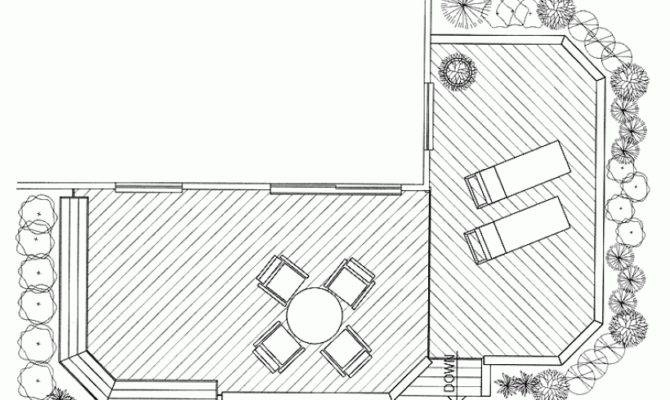 Check Out Wooden Deck Ideas Shaped Plans Huge