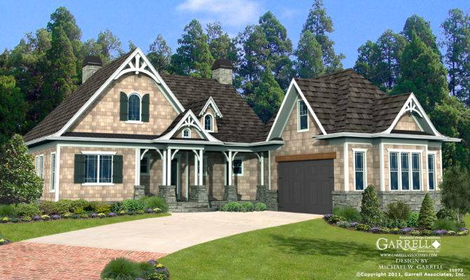 Cherokee Cottage House Plan Country Farmhouse Southern