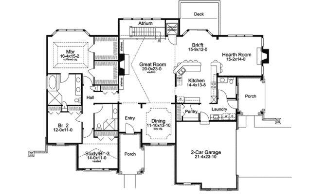 Cheshire Hills Efficient Home Plan House Plans More
