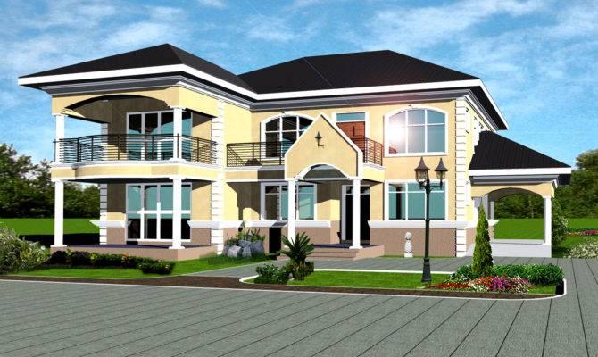 Chief Ghana House Plans Designs