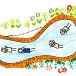 Children Sketch Illustration