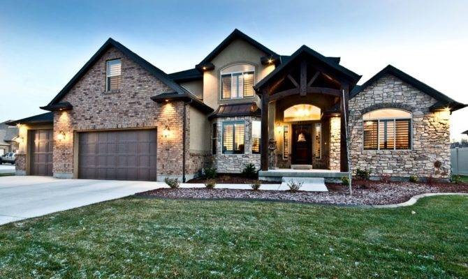 Christopher Custom Home Plans Utah County Builders