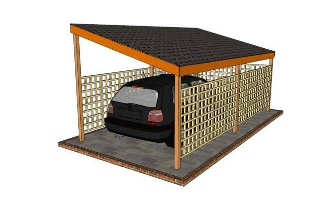 Church Over Hang Car Port Joy Studio Design Best