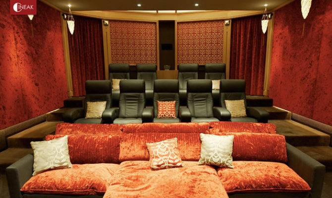 Cineak Intimo Fortuny Luxury Home Theater Modern