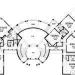 Circular House Floor Plans Design
