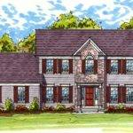 Classic Colonial Exterior Architectural