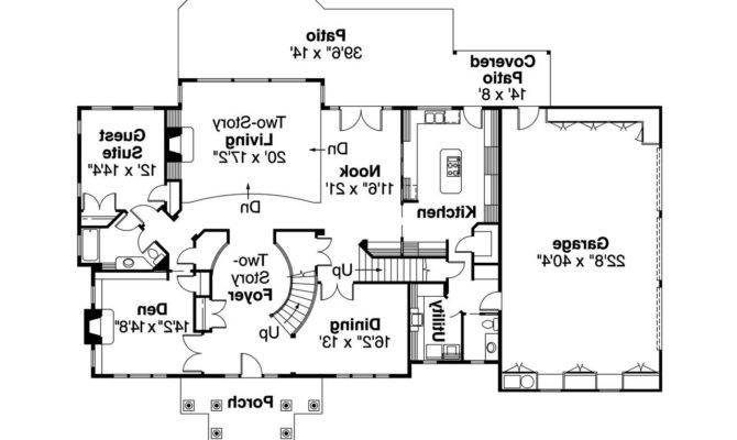 Classic Colonial Home Floor Plans Gurus