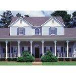 Classic Country Farmhouse Hwbdo Victorian Builderhouseplans