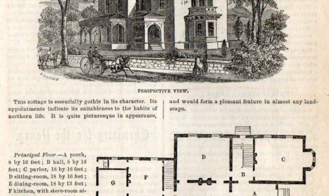 Classic Home Design Gothic Cottage Americana