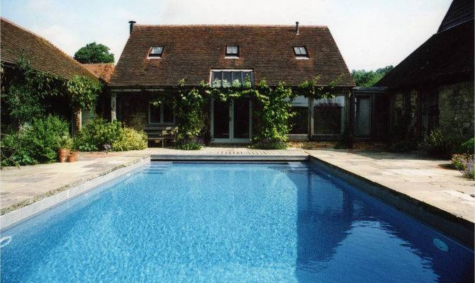 Classic Home Swimming Pool Design Furniture Ideas